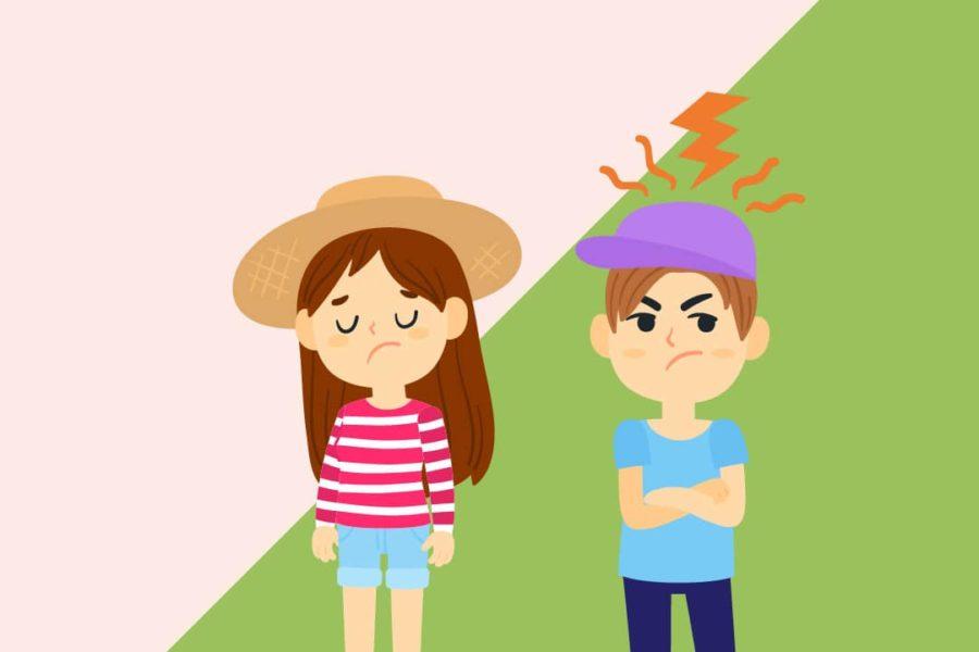 çocuklarda öfke problemi
